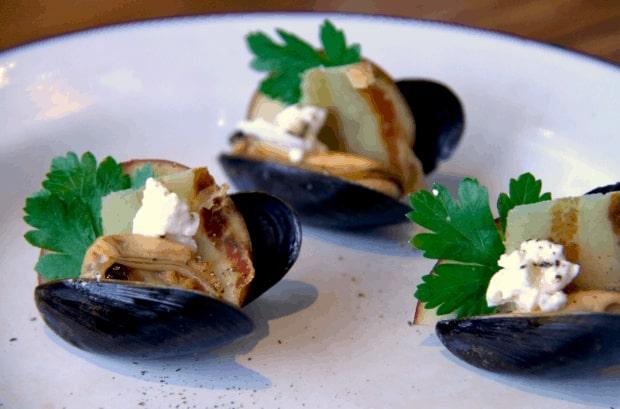 Mussel Pinchos