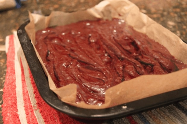 Pomegranate Chocolate Brownies-Ripple
