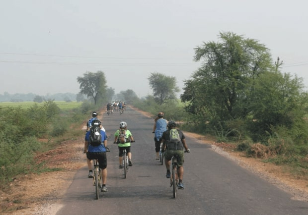 Cycling across Rajasthan with Action Against Hunger-1