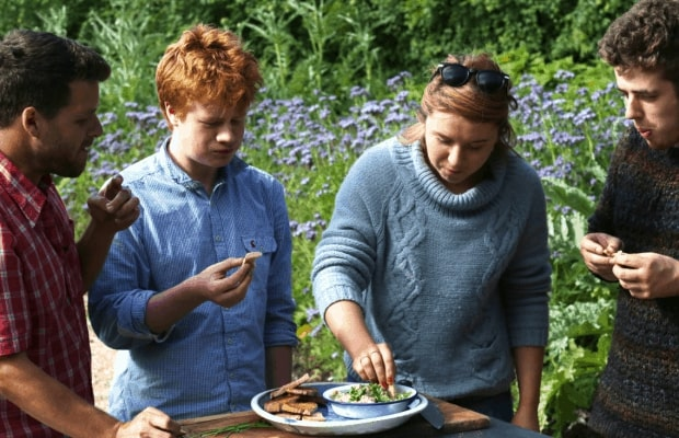 The rising stars of River cottage tasting my babaganush