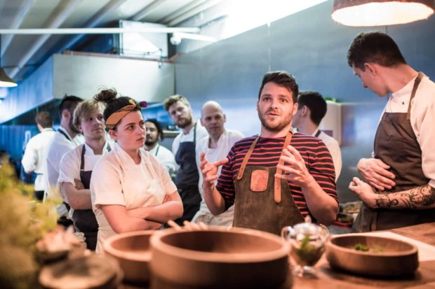 Describing the Root to Fruit ethos behind my dish and the inspiration Dan Barber has given to Tom Hunt