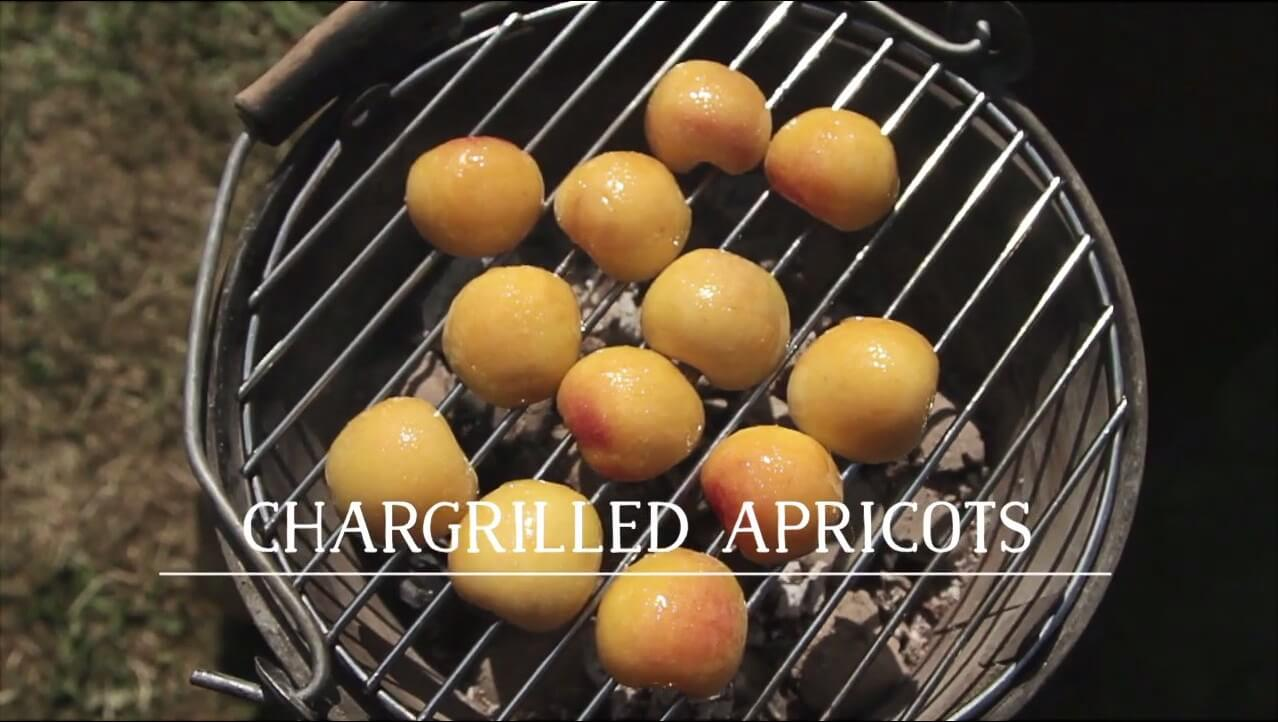 Chargrilled Apricots