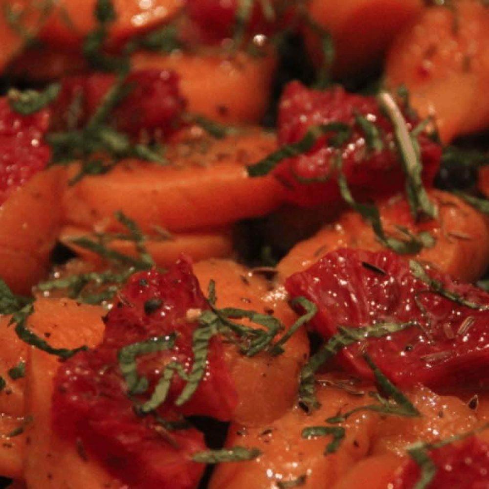 Carrot and Blood Orange Salad