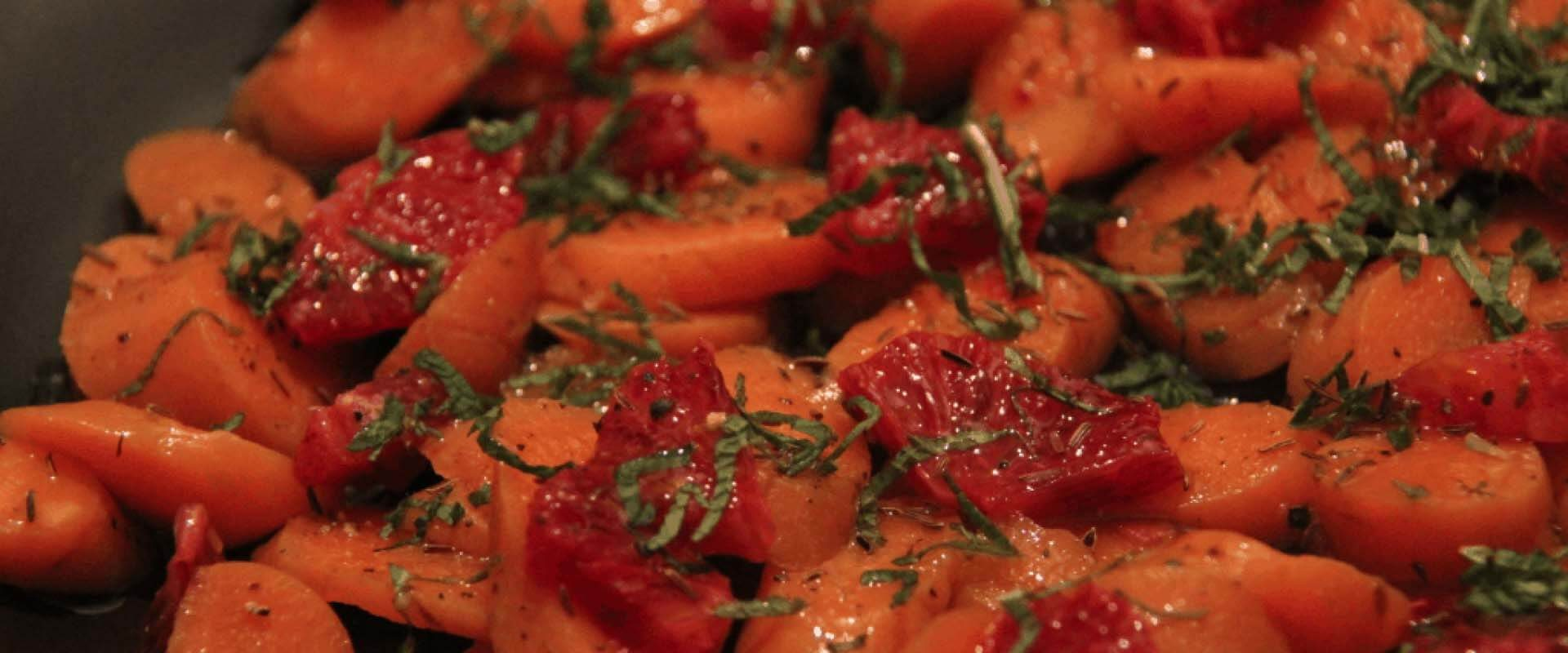 Carrot and Blood Orange Salad