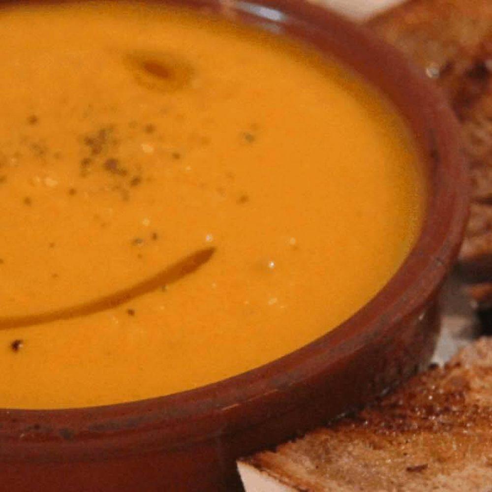 Crown Prince Squash Soup