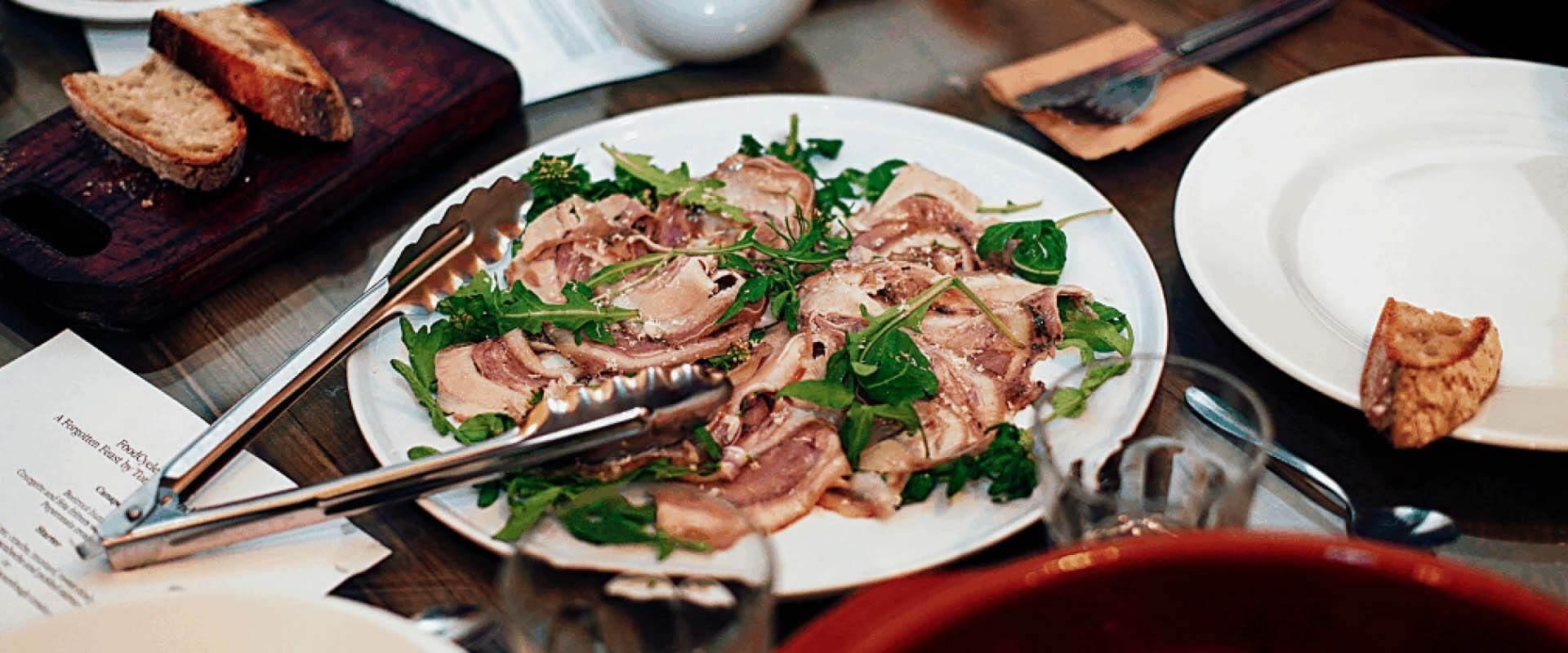 Porchetta di Testa – Rolled Pig's Head